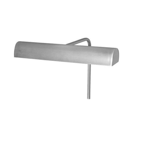 """10"""" Battery Operated Classic LED Picture Light in Satin Nickel"""