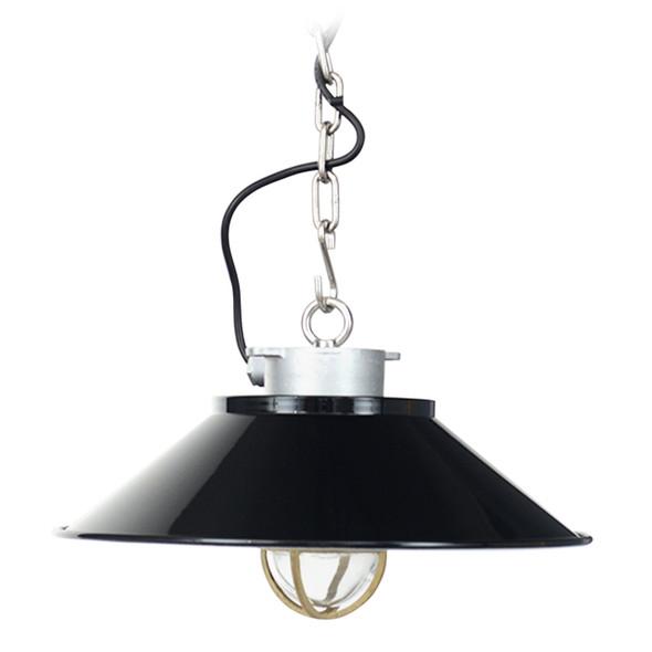 Devonport Nautical Pendant Light - Black