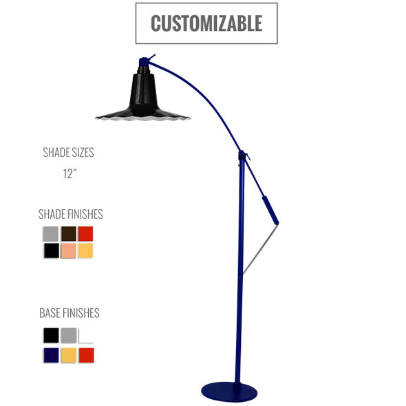 Customizable Iris Floor Lamp