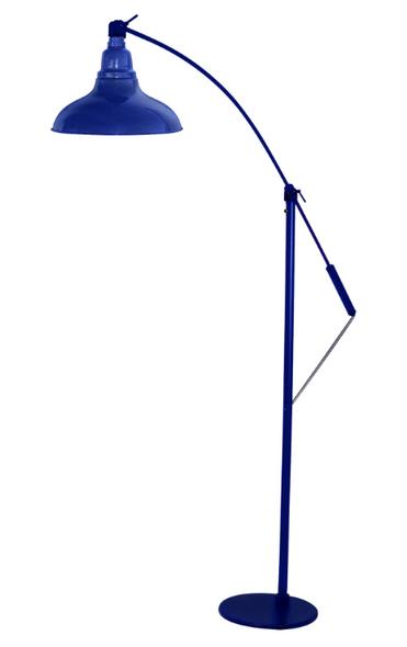 "8"" Dahlia LED Floor Lamp - Cobalt Blue"