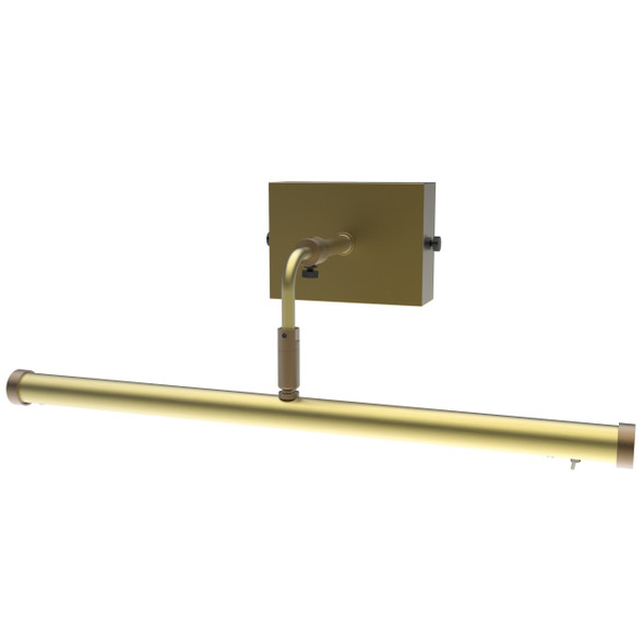 "16"" Tru-Slim Wall Mounted Picture Light in Antique Brass"