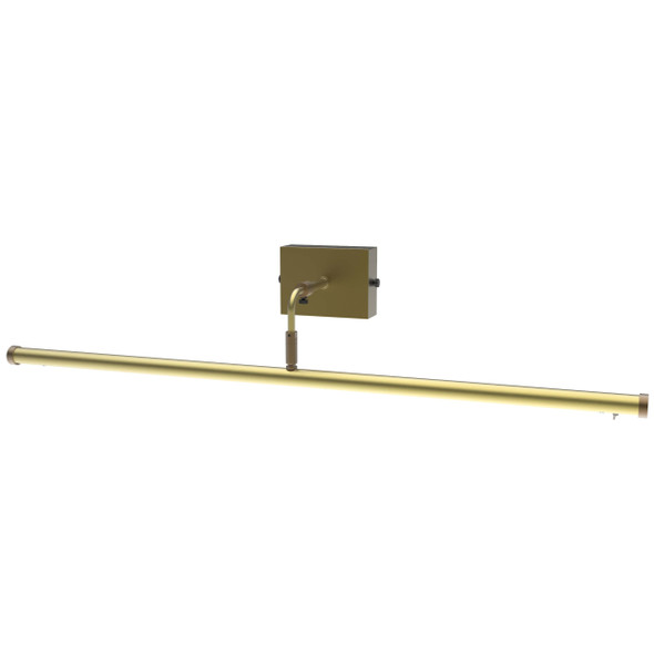 "30"" Tru-Slim Wall Mounted Picture Light in Antique Brass"