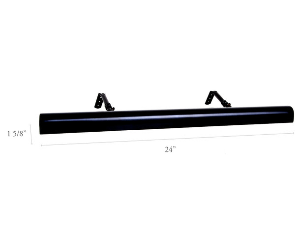 """Dimensions For  Black Classic 24"""" LED Gallery Light"""
