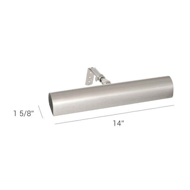 """Satin Nickel 14"""" Classic LED Picture LightSatin Nickel 14"""" Classic LED Picture Light"""