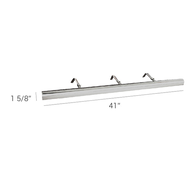 """Classic LED 41"""" Picture Light Dimensions"""