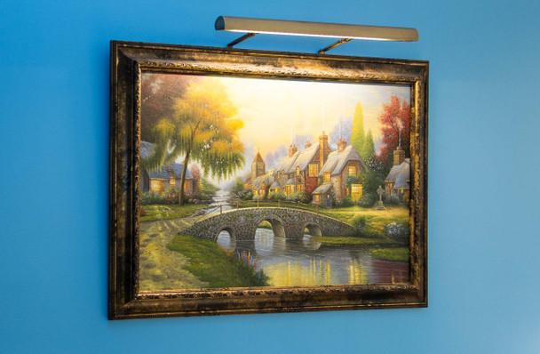 "LED Mahogany Bronze Classic 41"" Picture Lamp"