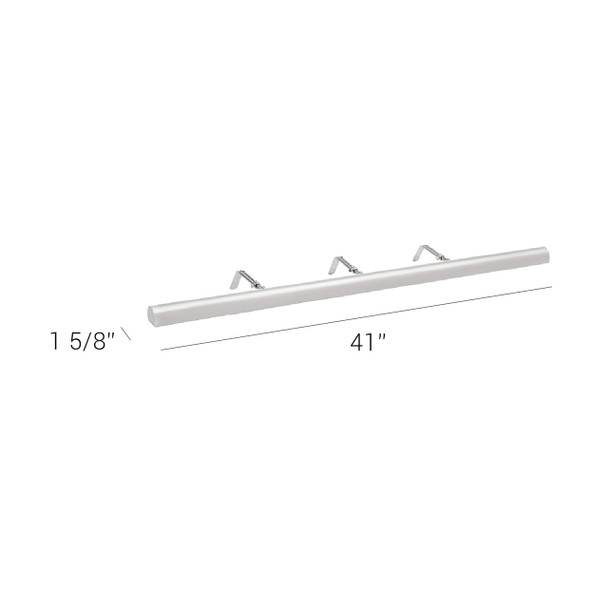 """LED Adjustable 41""""  Classic Series Picture Light Dimensions"""