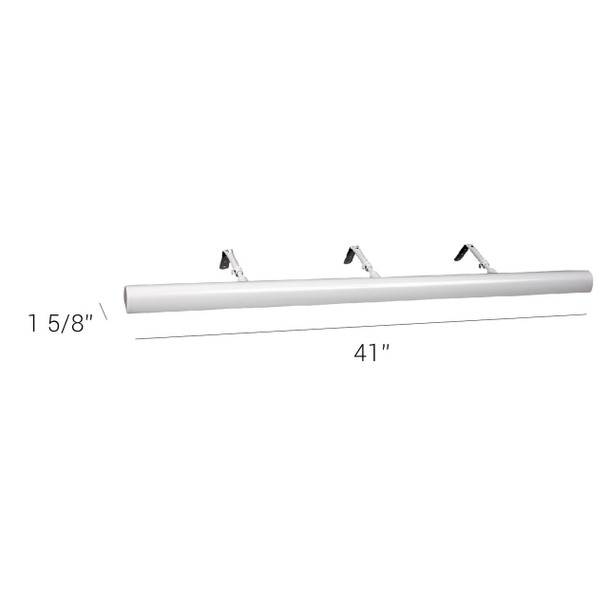 """LED Classic 41"""" Picture Light Dimensions"""