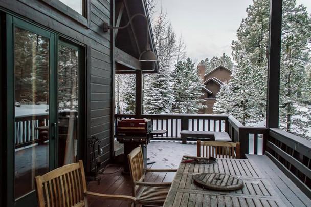 winter day lifestyle of a blackspot barn light