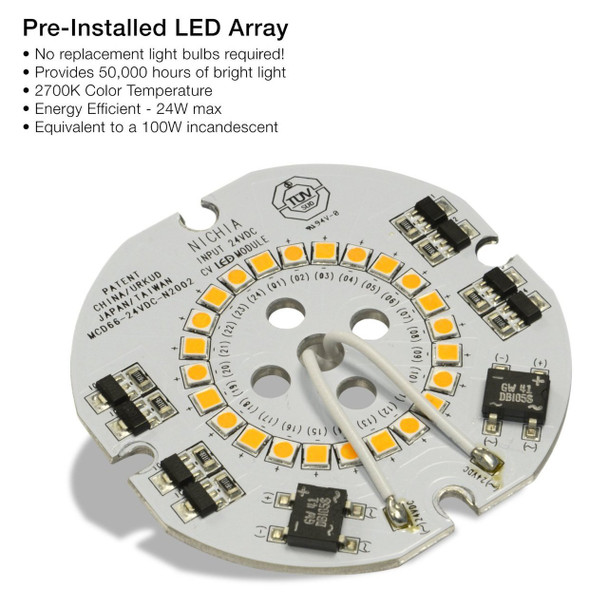 Barn Light  Pre-Installed LED Array