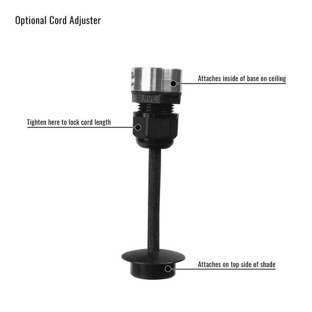 Cocoweb Pendant Light Cord Length Adjuster