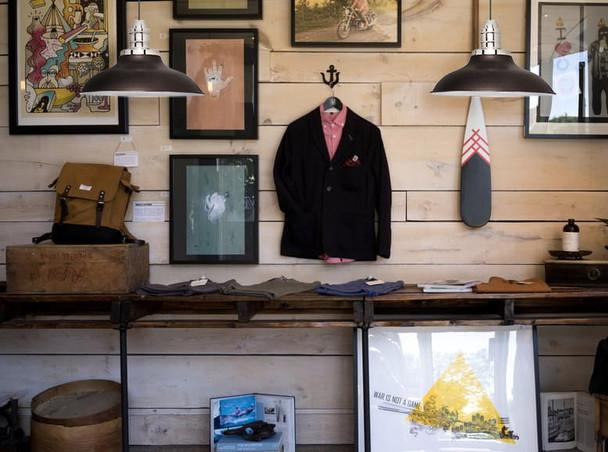 Customizable Peony Indoor LED Barn Pendant Light lifestyle