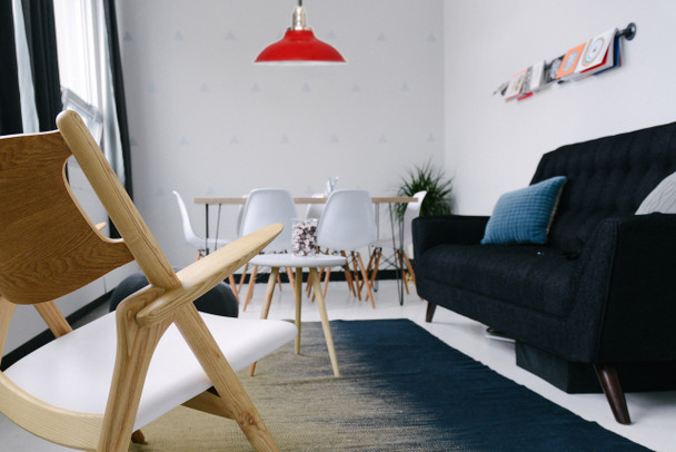 Customizable Peony Indoor LED Barn Pendant Light lifestyle 4