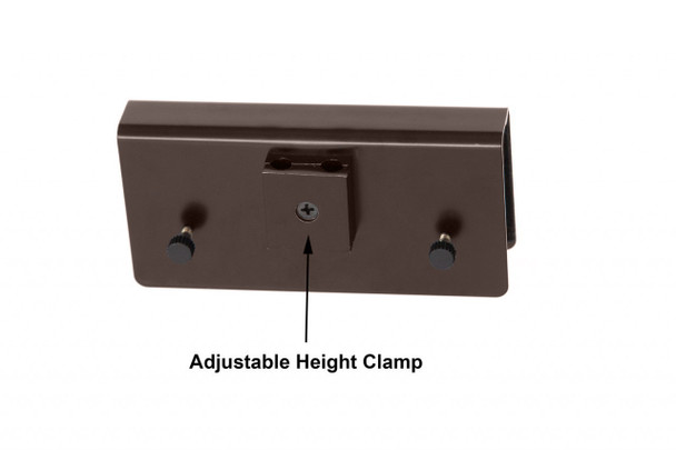 """Adjustable Height Clamp for 22"""" LED Grand Piano Lamp"""