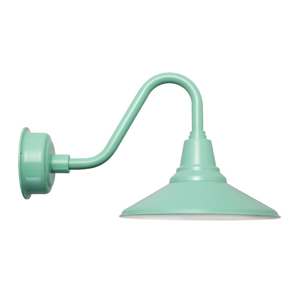 "16"" Calla Vintage Jade Indoor/Outdoor LED Barn Light"