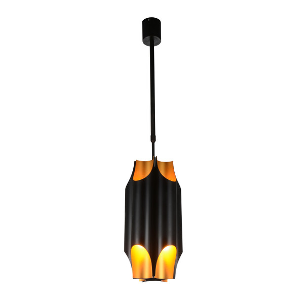 "11"" Savona LED Pendant Light in Black"