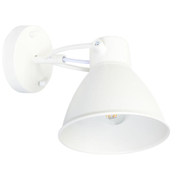 "5"" Atrani LED Sconce Light in White"