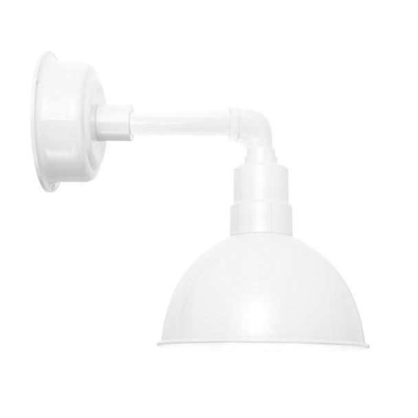 "8"" Blackspot LED Sconce Light with Cosmopolitan Arm in White"
