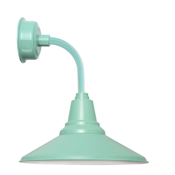 "14"" Calla LED Sconce Light with Trim Arm in Jade"