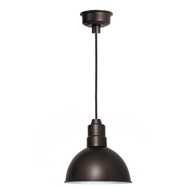 "10"" Blackspot LED Pendant Light in Mahogany Bronze"