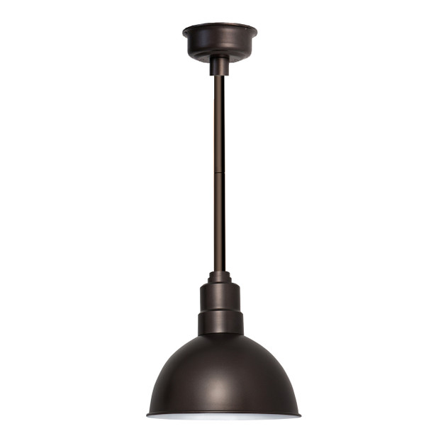 "12"" Blackspot LED Pendant Light in Mahogany Bronze with Mahogany Bronze Downrod"