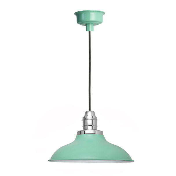 "10"" Peony LED Pendant Light in Jade"