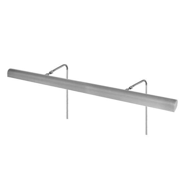 "36"" Battery Operated Classic LED Picture Light in Satin Nickel"