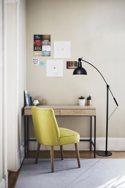 Black Blackspot Barn Floor Lamp Lifestyle 2