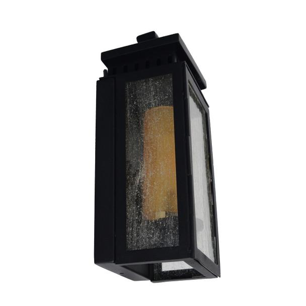 Navan Outdoor LED Wall Half Lantern - Small