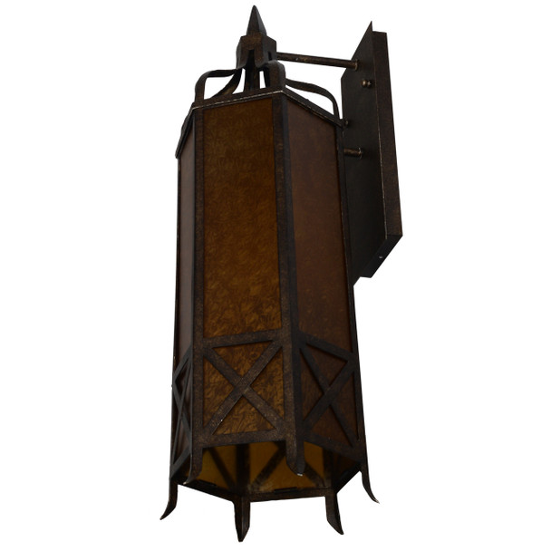 Cashel Outdoor LED 3 Light Wall Lantern