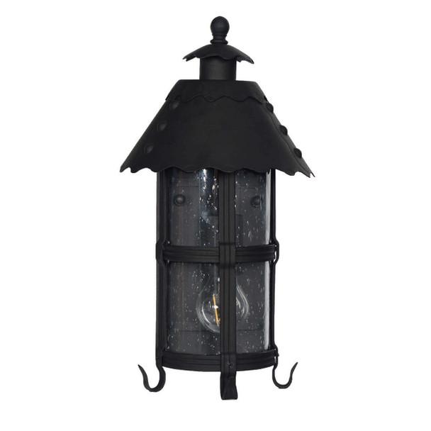Edenderry Outdoor LED Wall Half Lantern