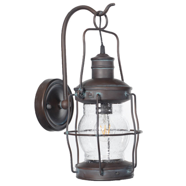 Carran Outdoor LED Wall Lantern - Small