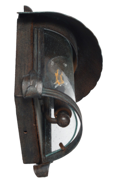 Elphin Outdoor LED Wall Half Lantern
