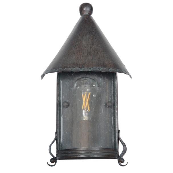 Elphin Outdoor LED Wall Half Lantern
