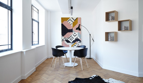Customizable Blackspot Floor Lamp Lifestyle