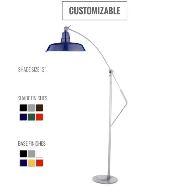 Oldage Customizable Industrial Floor Lamp