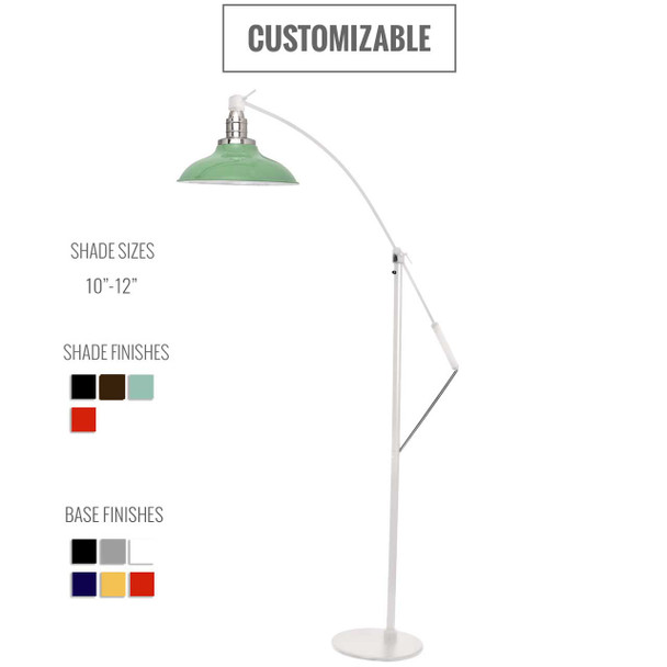 Peony Customizable Industrial Floor Lamp