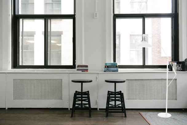 White Peony Barn Floor Lamp Lifestyle 2