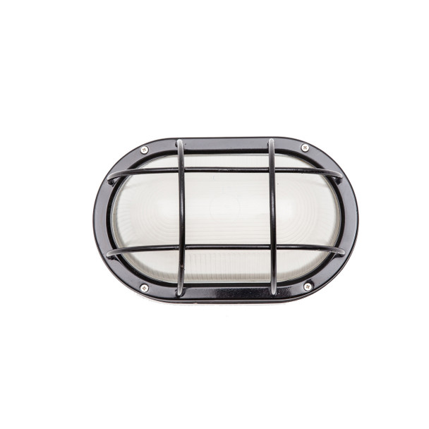 Moruya Nautical Bulkhead Sconce in Black