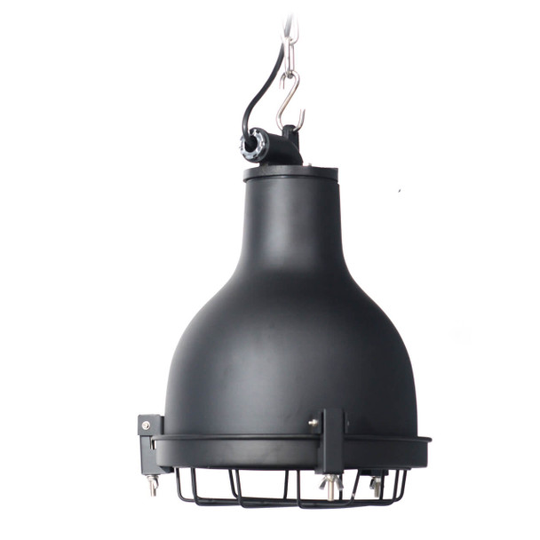 Castlemaine Nautical Pendant Light in Black