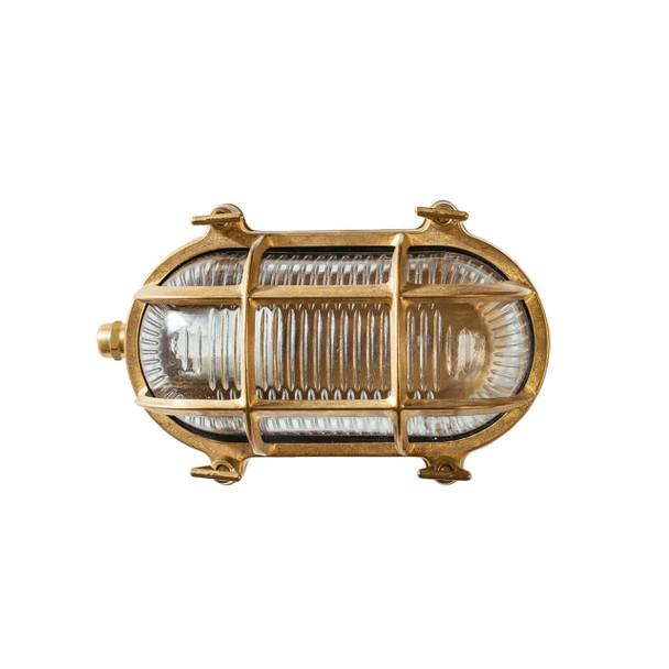 Ceduna Nautical Bulkhead Light in Brass (AM-F440-BR)