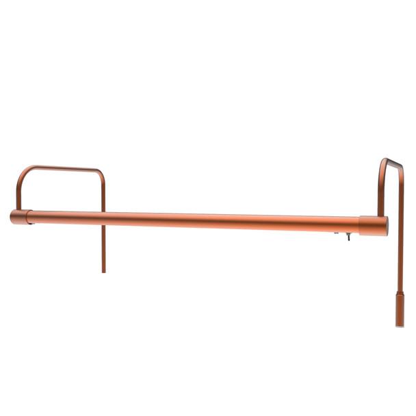"""21"""" Tru-Slim LED Picture Light in Copper"""