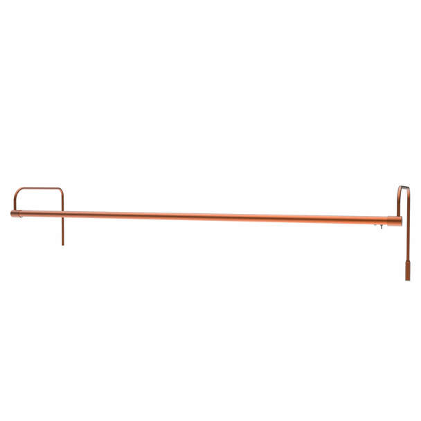 "43"" Tru-Slim Hardwired LED Picture Light in Copper"