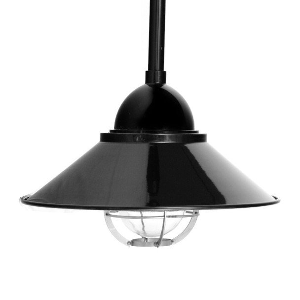 Lismore Nautical Pendant Light in Black