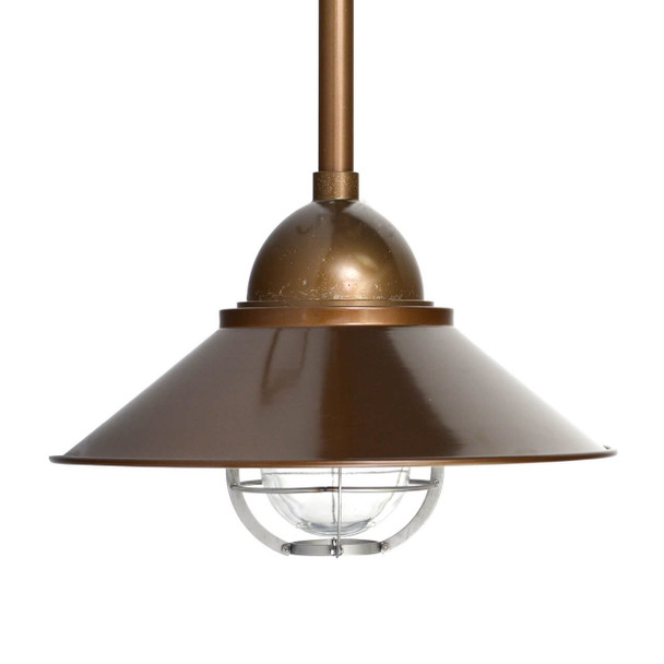 Lismore Nautical Pendant Light in Brass