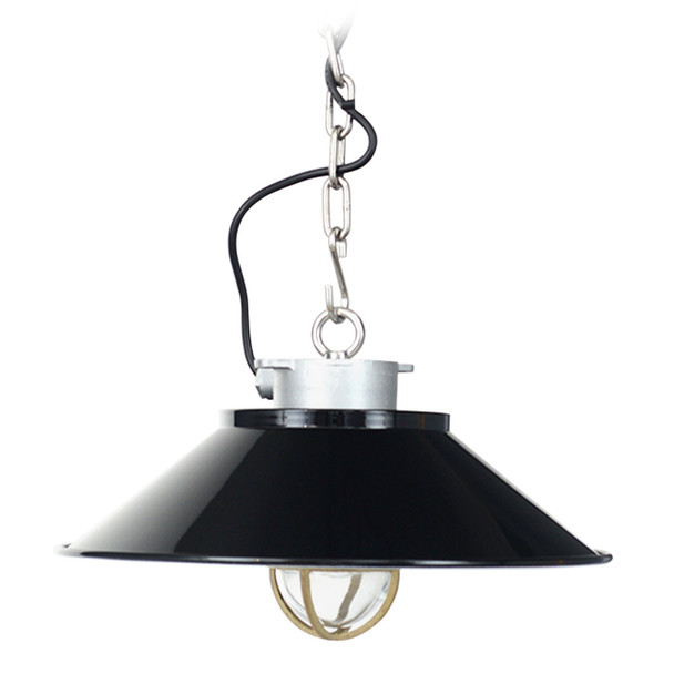 Devonport Nautical Pendant Light - Black