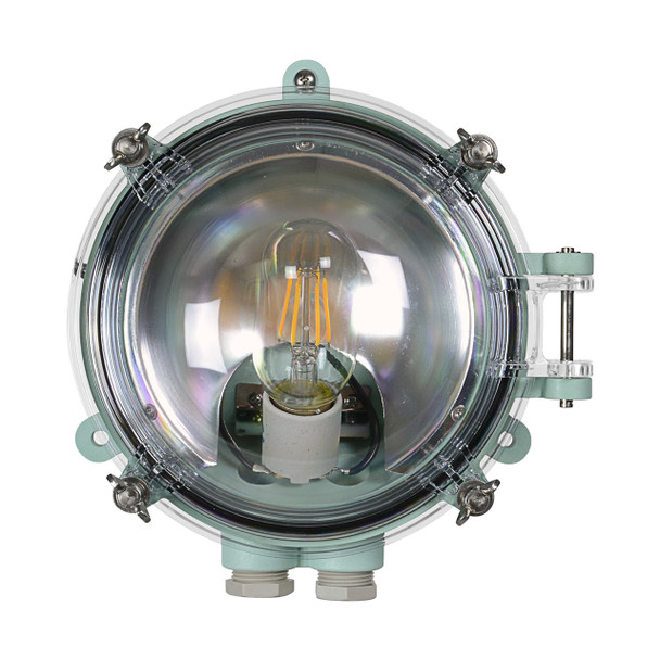 Busselton Nautical Wall Sconce in Green (AM-D150-GR)
