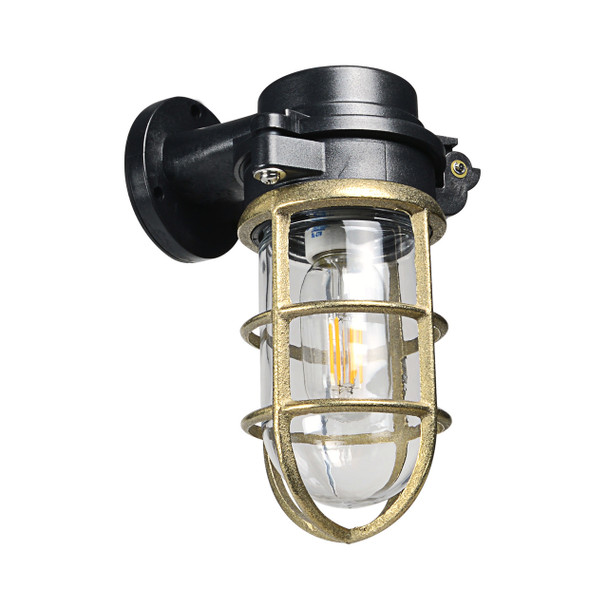 Mildura Sconce in Black (AM-A555-BK)