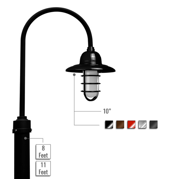 Customizable Pottery Barn LED Lamp Post - Outdoor (0BFRF)