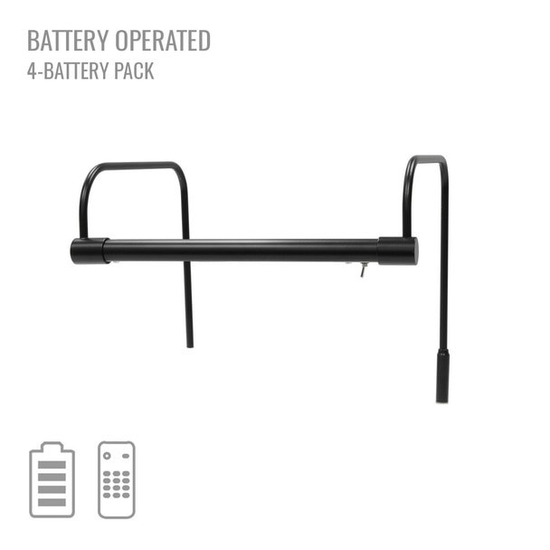 "Cocoweb 12"" Tru-Slim Battery Picture Light in Black"